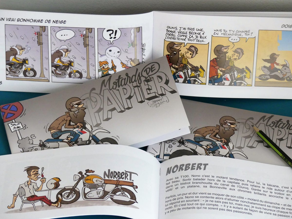 Image of BD Motards de Papier #1