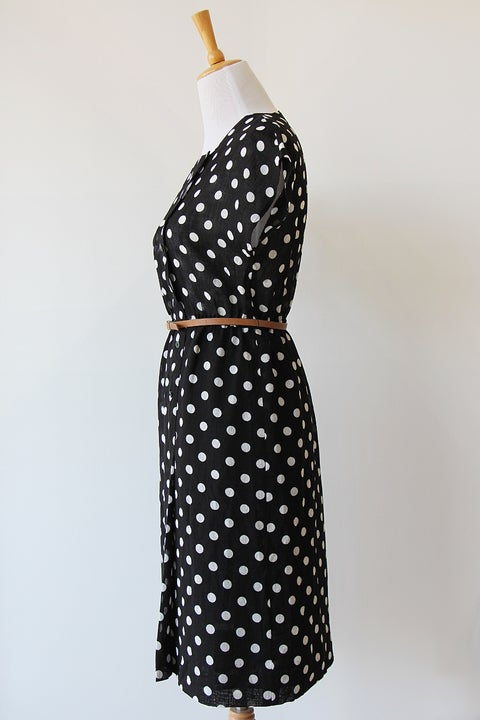 Image of SOLD Classic Polka Dot Dress