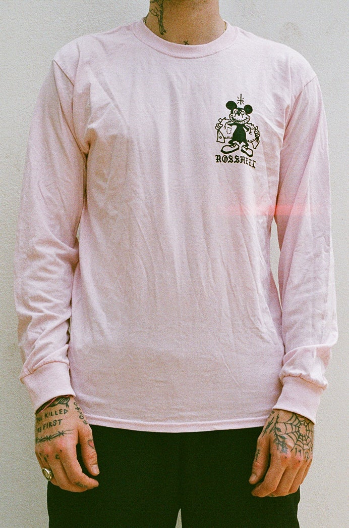 Image of pink MICKEY long sleeve