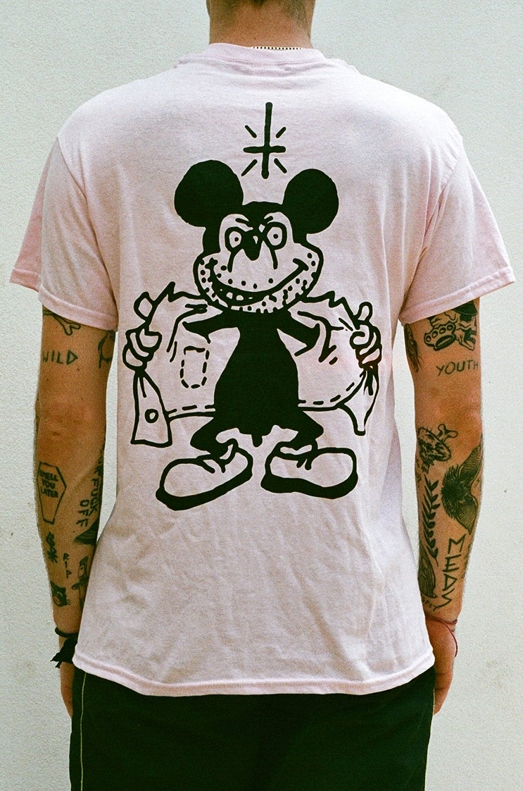 Image of pink MiCKEY T