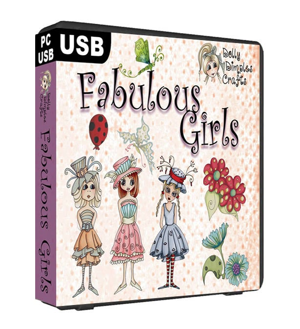 Image of Fabulous Girls by Dolly Dimples