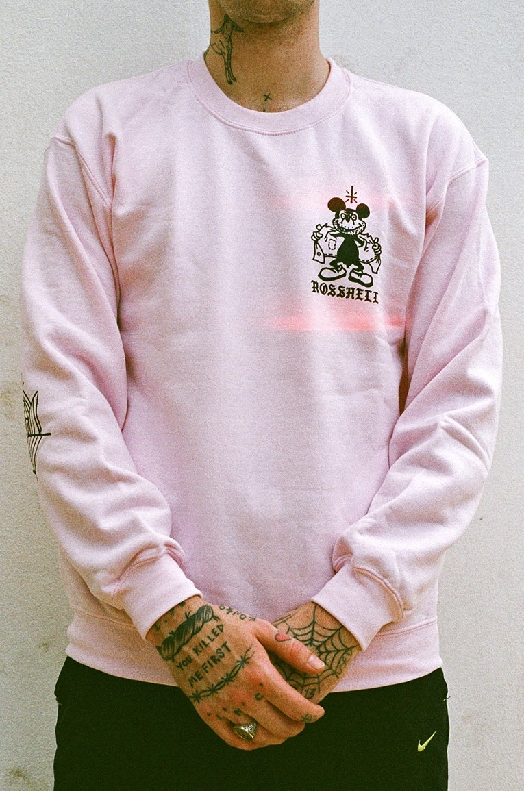 Image of pink mickey jumper