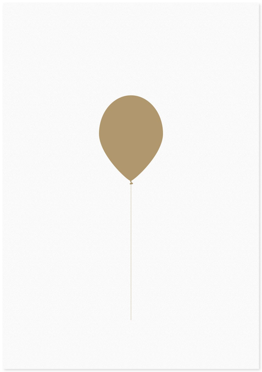 Image of balloon | gold