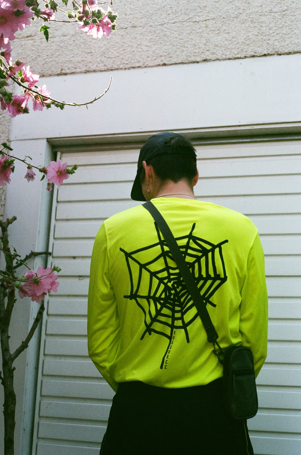 Image of neon WEB long sleeve (football knit)