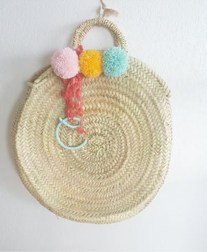 Image of Capazo Redondo / Round Beach Bag