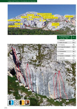 Image of Escalada Deportiva en la Cordillera Cantábrica +Vertical-Life App