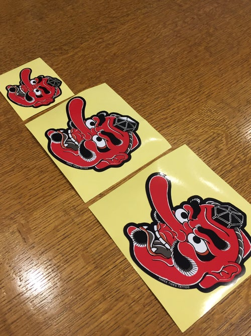 Image of HORIHIRO TENGU STICKER SET