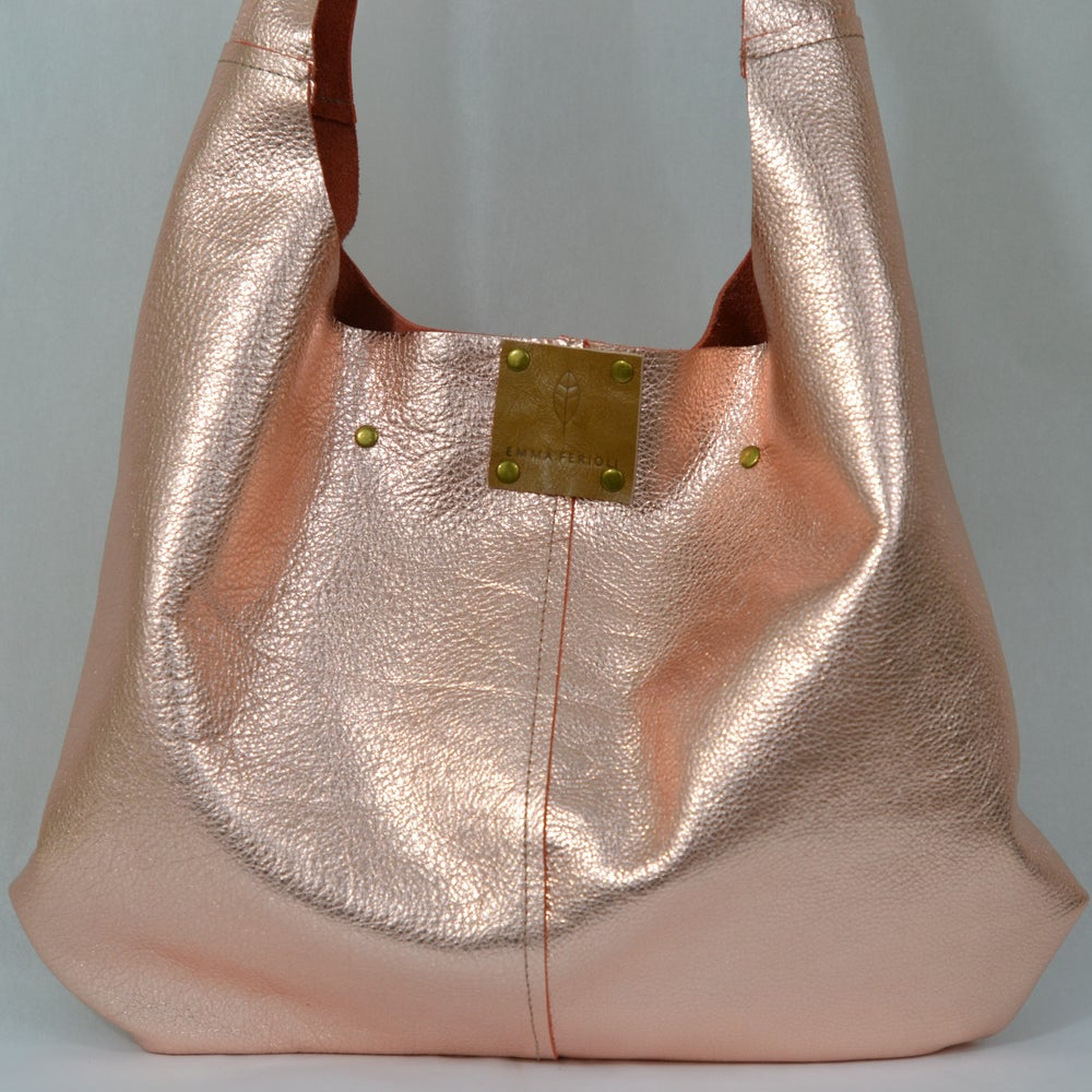 Image of softest rose gold slouch