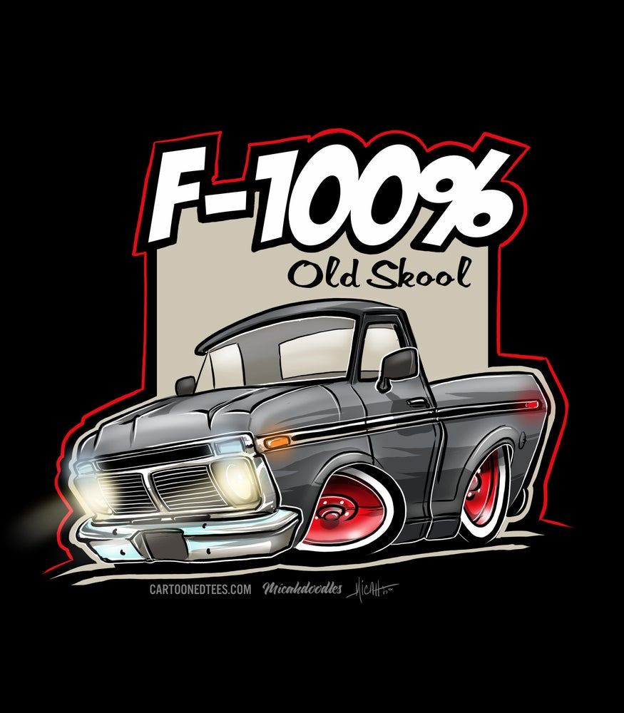 Image of '74 F100% Charcoal