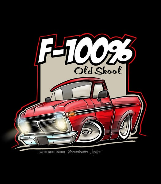 Image of '74 F100% RED