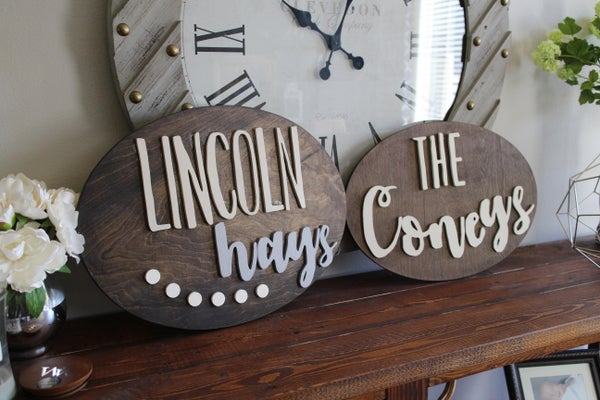 Image of Handmade Sign
