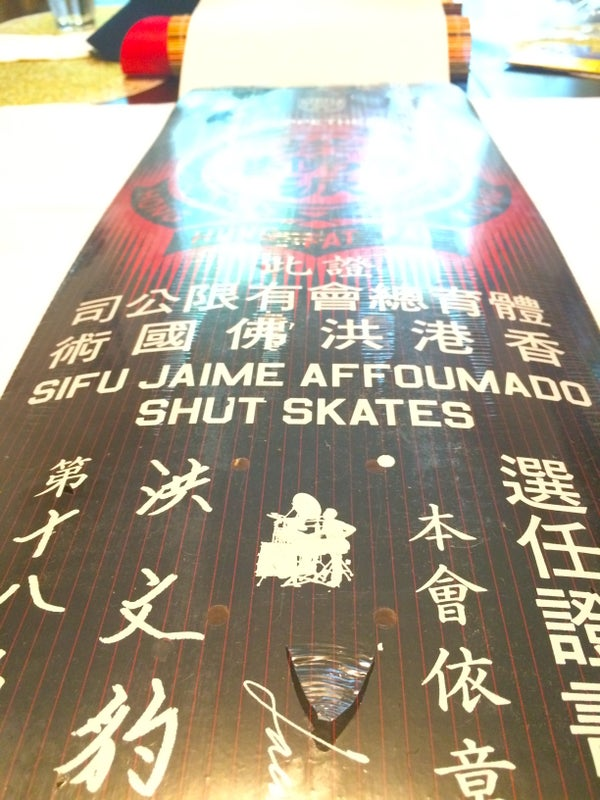 Image of SIFU JAIME AFFOUMADO SHUT SKATES BOARD