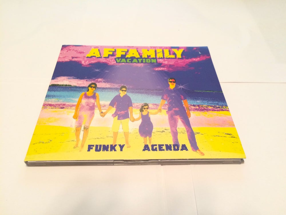 Image of THE AFFAMILY BAND - FUNKY AGENDA CD (2017)