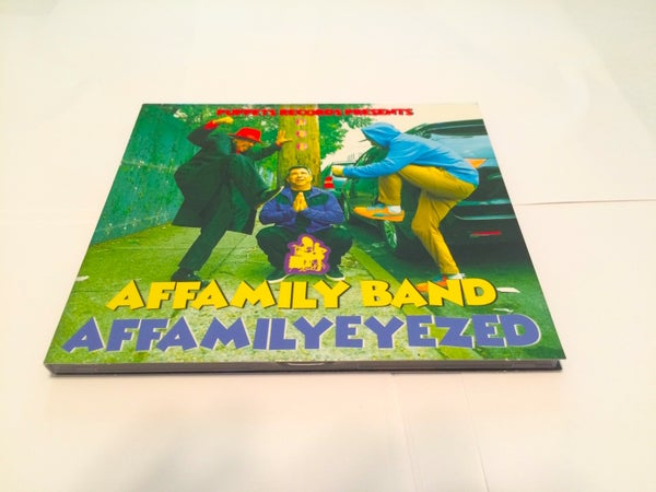 Image of THE AFFAMILY BAND - AFFAMILYEYEZED (2018)