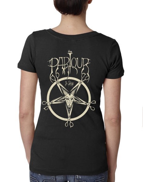 Image of Baphomet v-neck or crew shirt