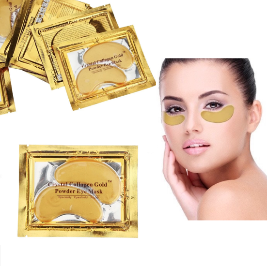 Image of 3 Gold Bio Collagen Eye Masks