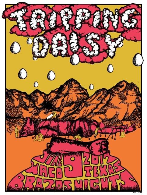 Image of Waco Silkscreen Poster