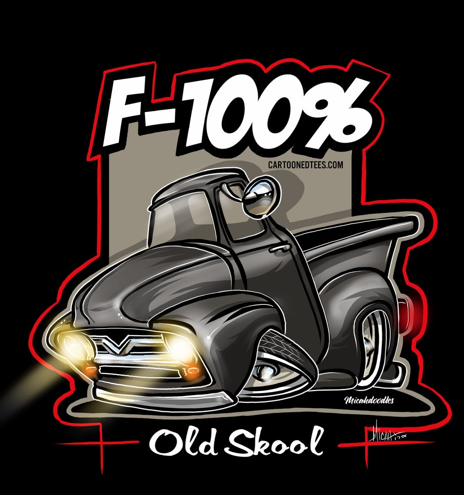 Image of '53 F100% black