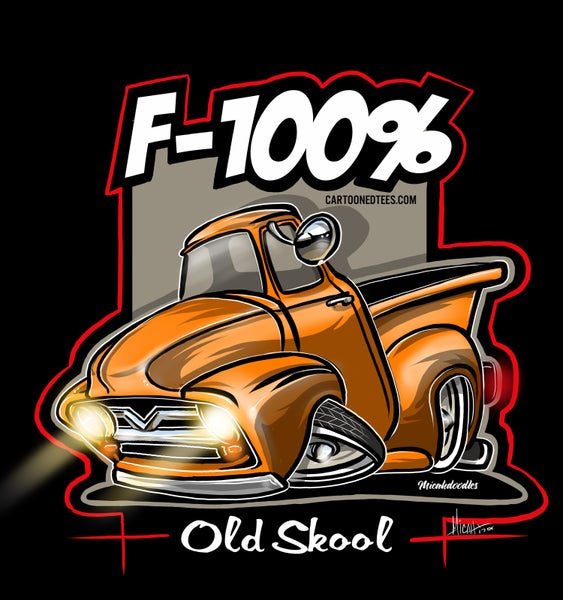 Image of '53 F100% orange