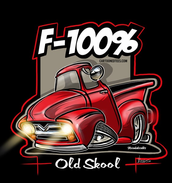 Image of '53 F100% Red
