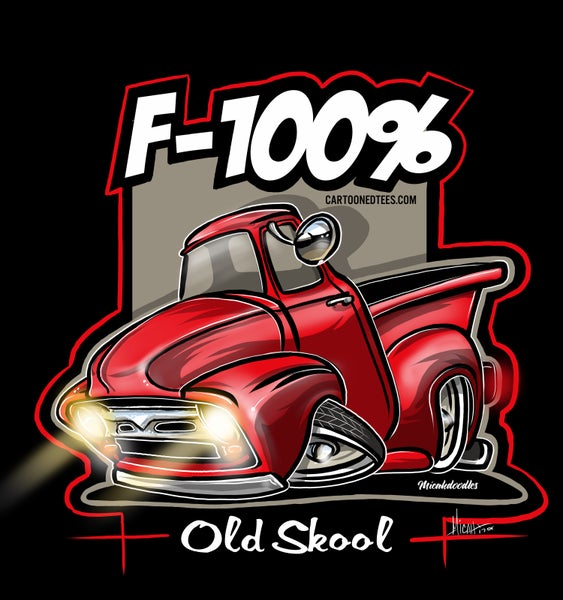 Image of '56 F100% Red