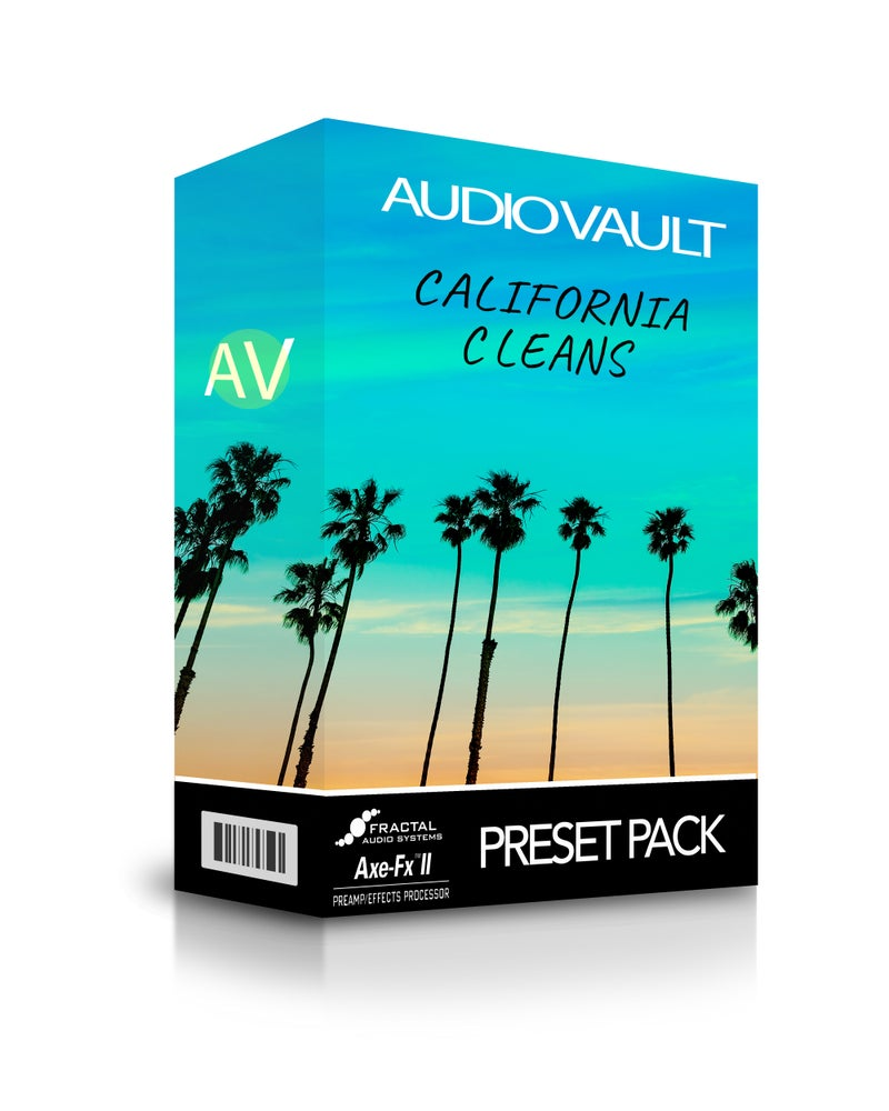 Image of California Cleans Axe-FX II Preset Pack