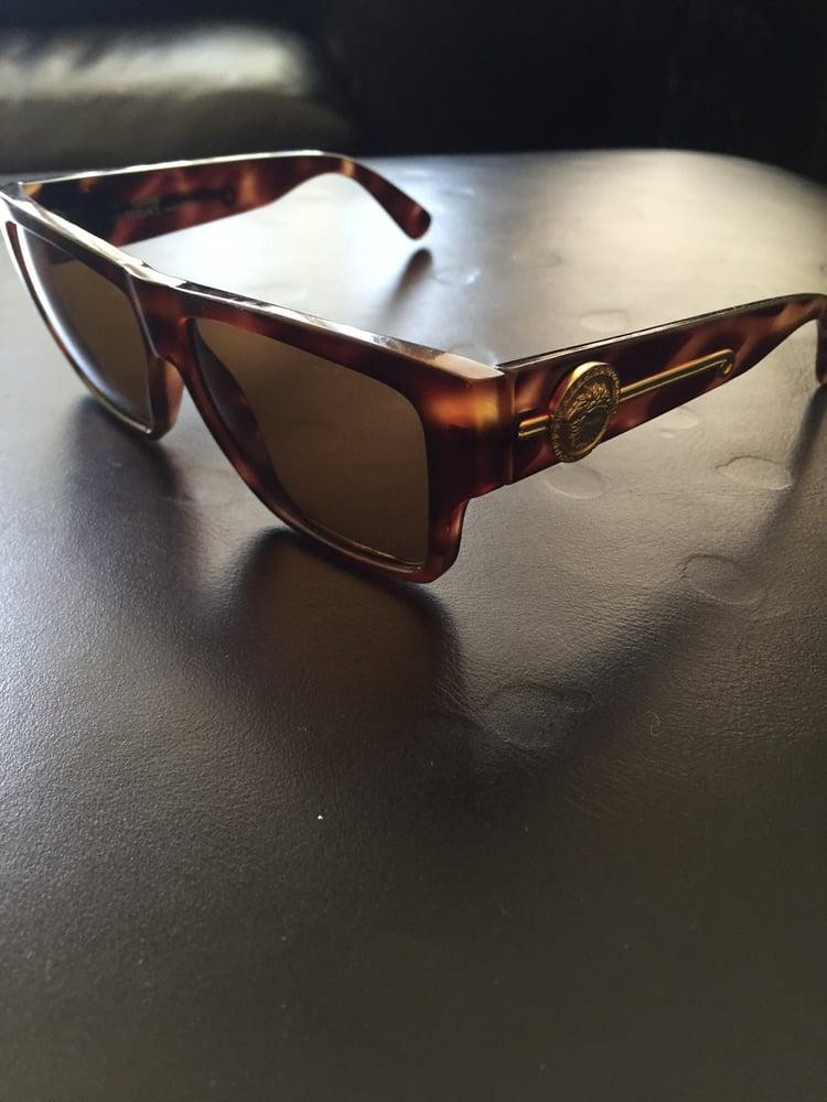 d1ea80a595 Image of Versace vintage sunglasses Mod. 372 DM col 900 ...