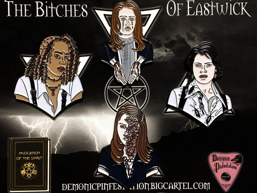 Image of The Bitches Of Eastwick Pin Set
