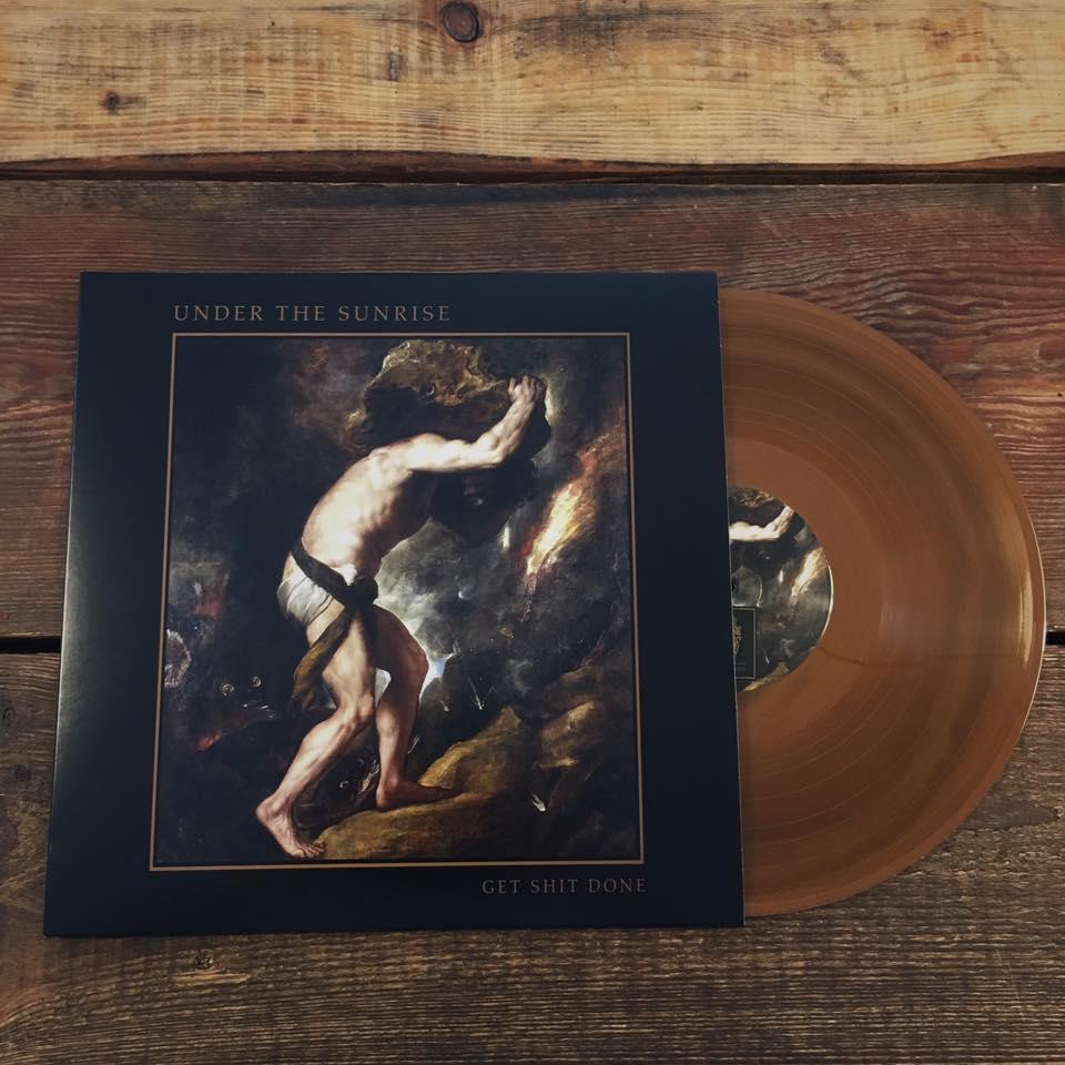 "Image of GET SHIT DONE Album Bronze 12"" Vinyl"