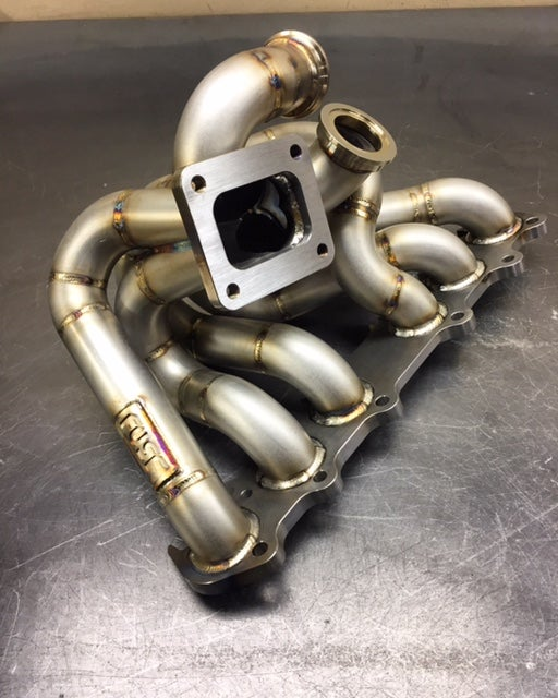 2JZGTE open T-4 manifold