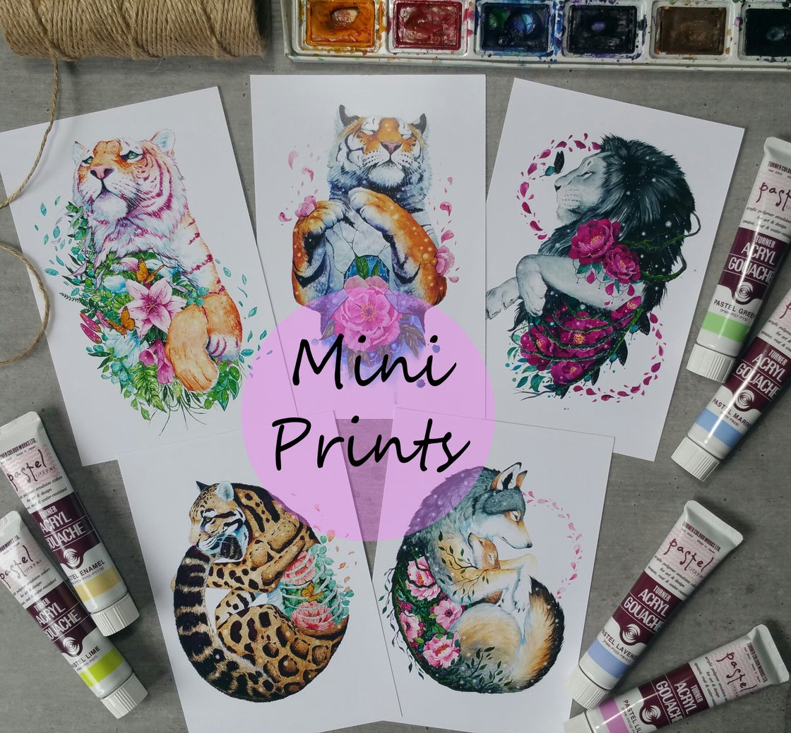 Image of MINI PRINTS! Choose the prints you'd want to receive from my store!