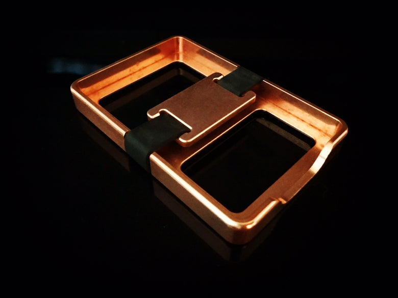 Image of Copper Bux Box with Copper Buckle