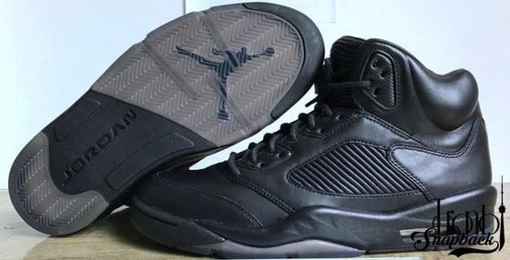 """Image of Air Jordan 5 """"Triple Black"""""""
