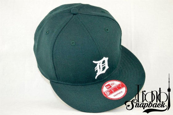 Image of Detroit Tigers Green New Era 950 Snapback
