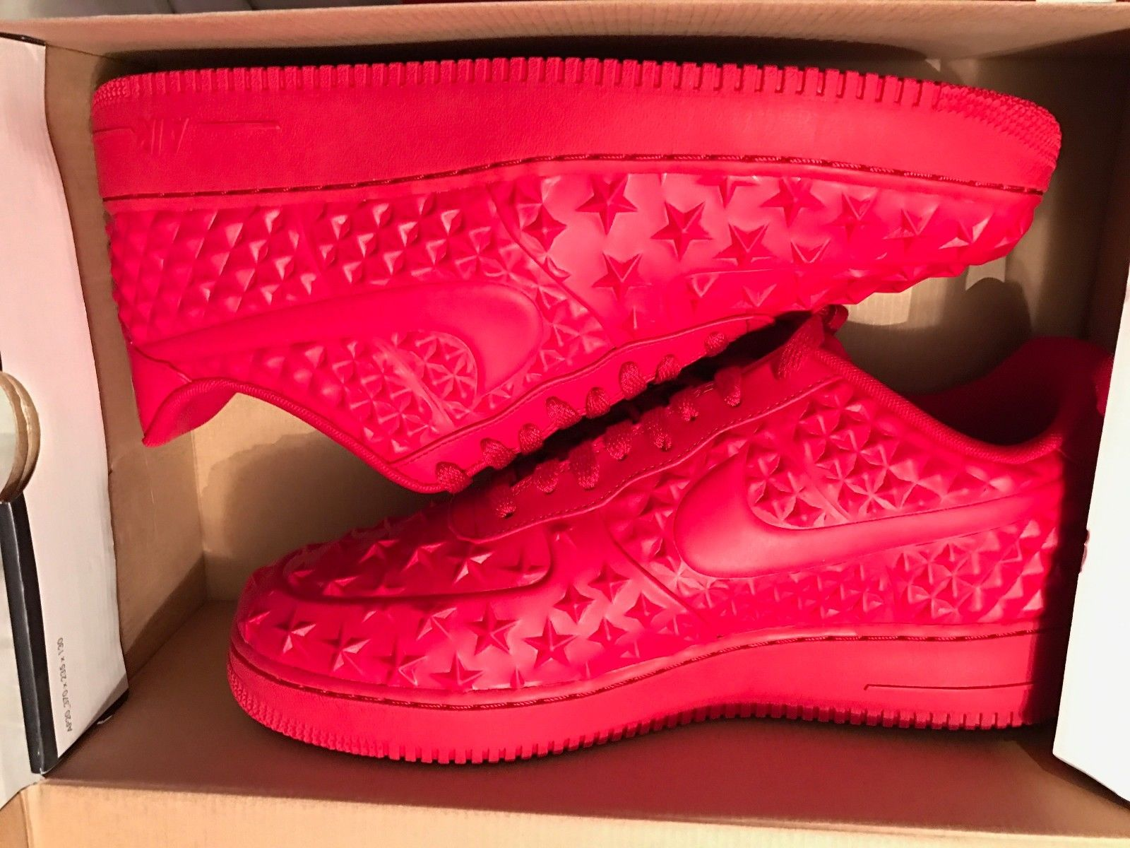 brand new b596d 75375 Image of New - Nike Air Force 1 LV8 VT Gym Red Oct - No Box