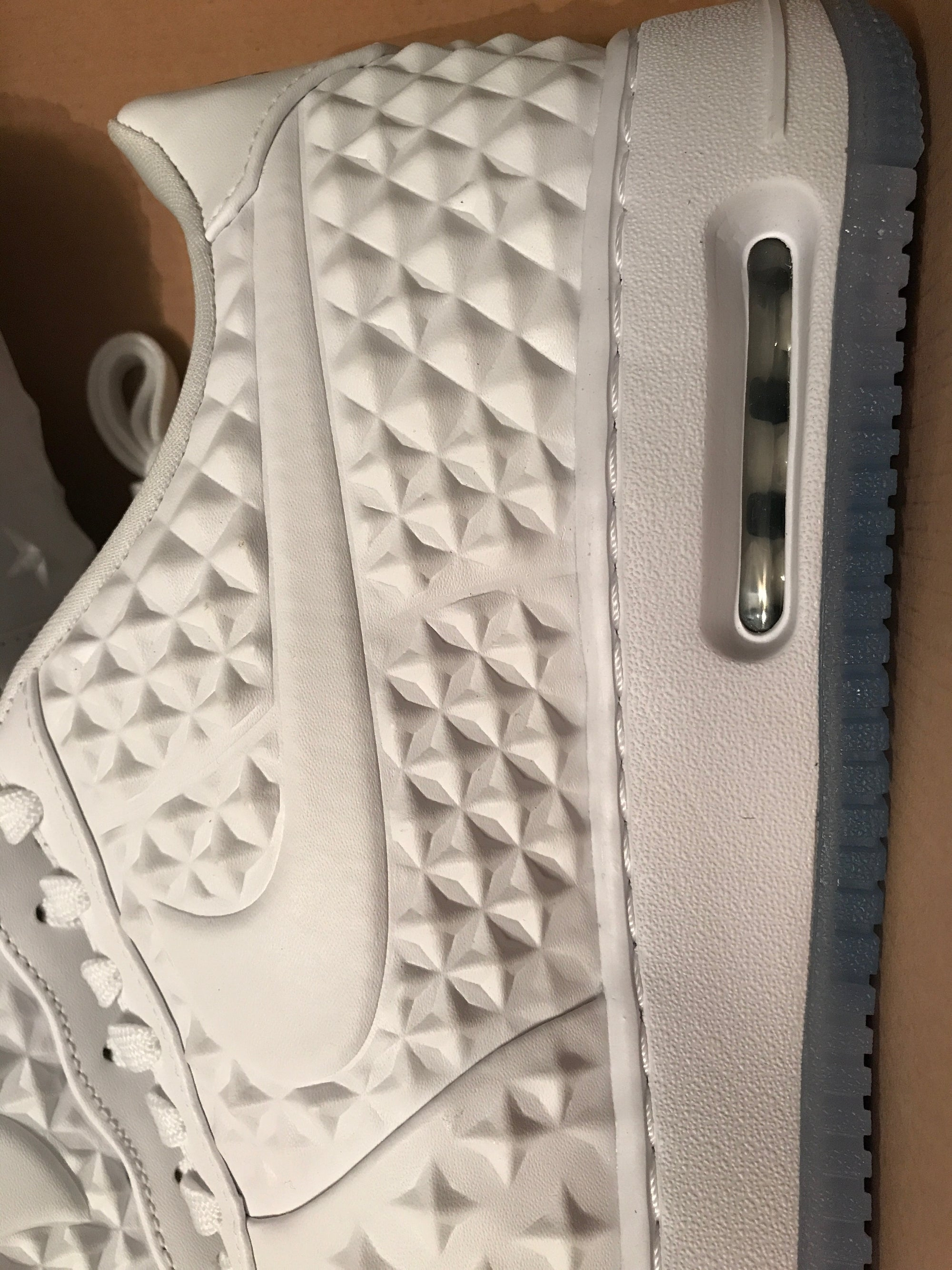 Image of New - Nike AF1 AIR FORCE 1 ELITE AS QS WHITE STARS