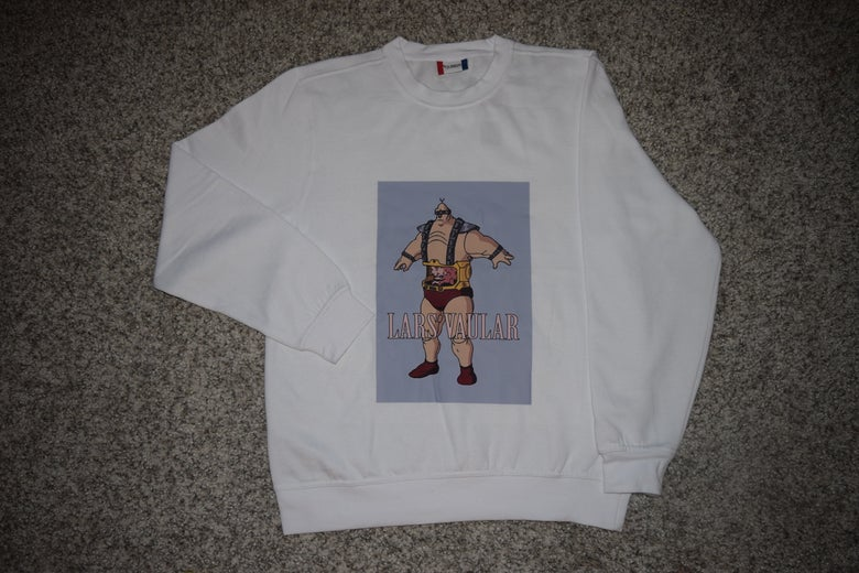Image of LV loading WHITE KRANG CREWNECK