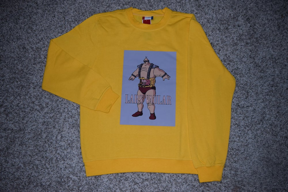 Image of LV loading YELLOW KRANG CREWNECK