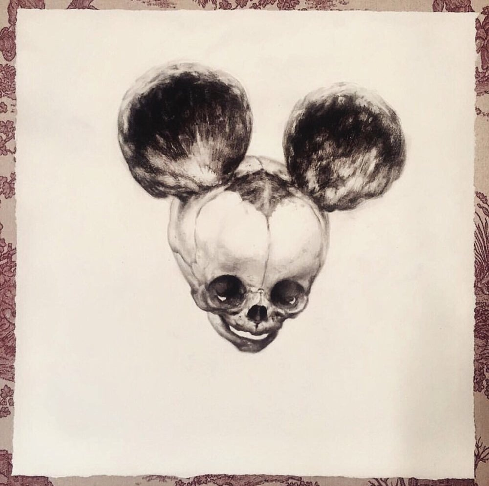 Image of 'FOETAL MOUSE' - Miniature Open Edition Print