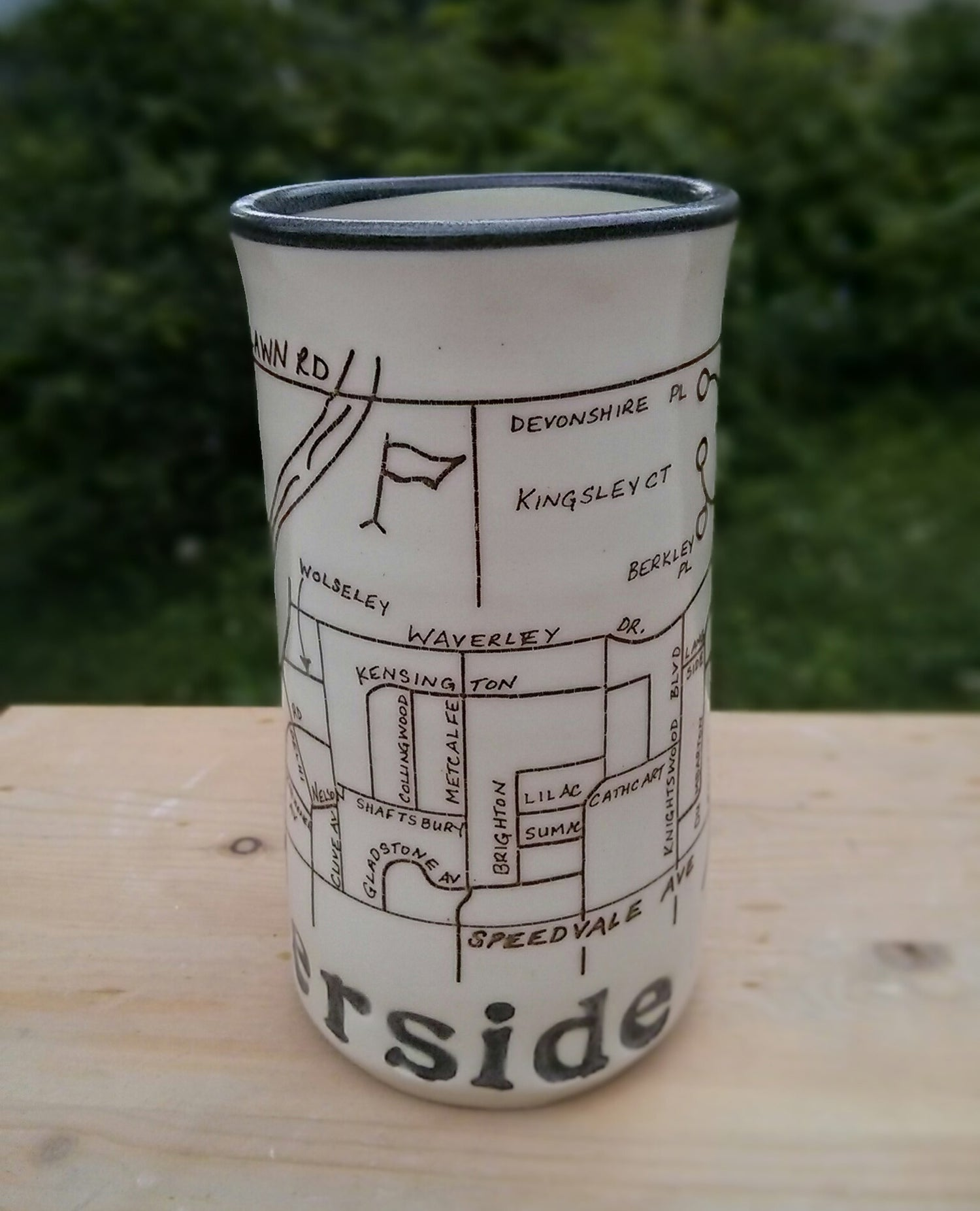 Image of Guelph Inspired 'Riverside Park' mug by Bunny Safari