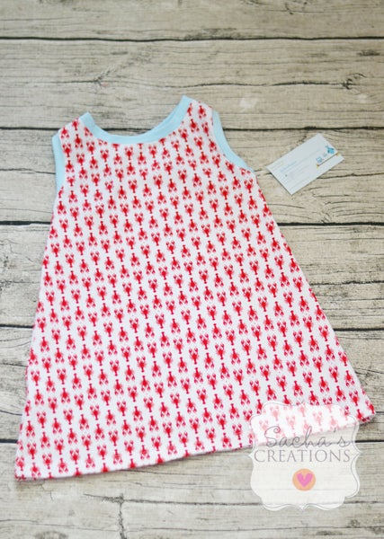 Image of Lobster Racerback Tank Dress