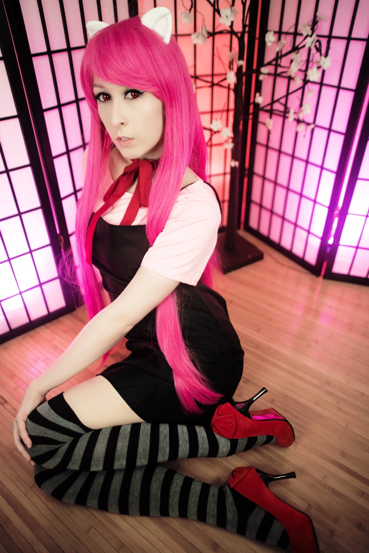 Image of Elfen Lied Lucy Foot Set