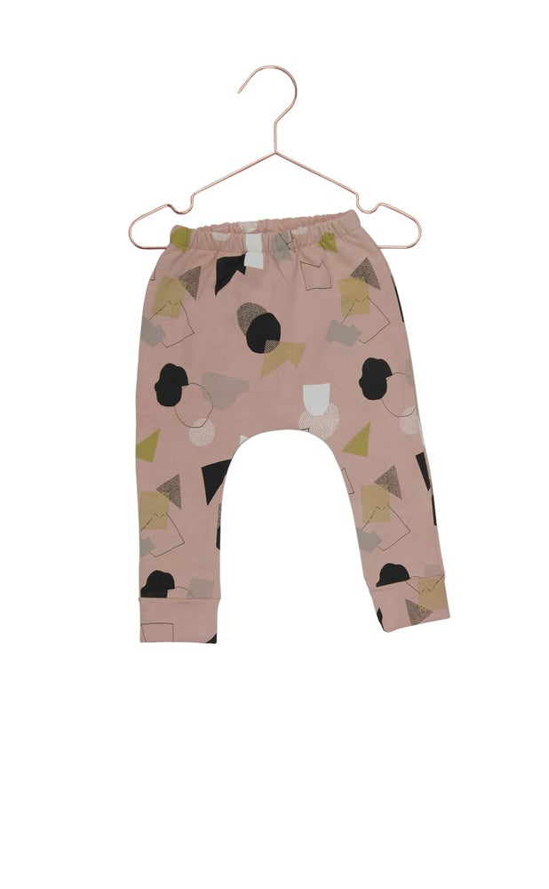 Image of Leggings City Map dusty pink