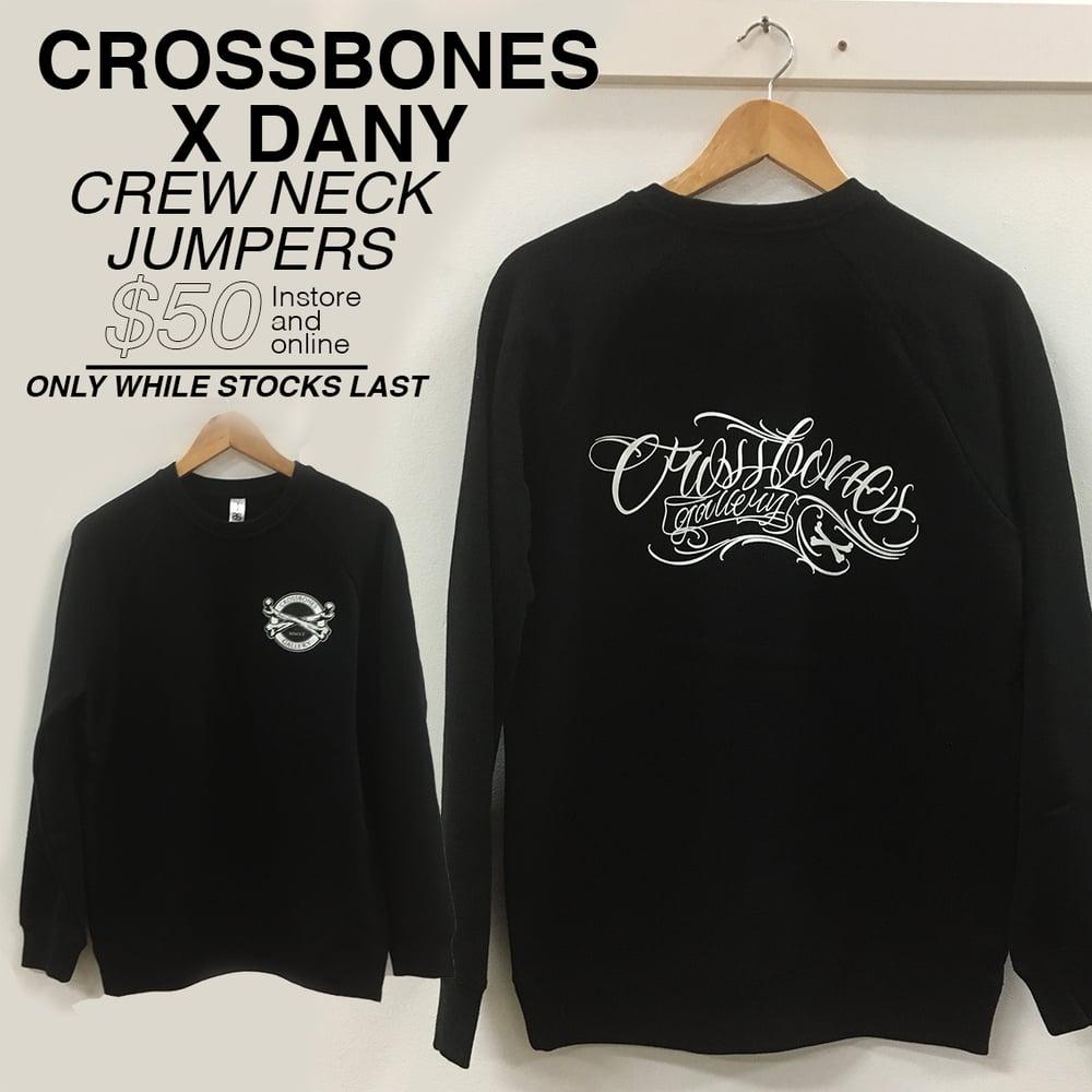 "Image of NEW! Crew-Neck Jumper ""Crossbones Gallery x DANY"""