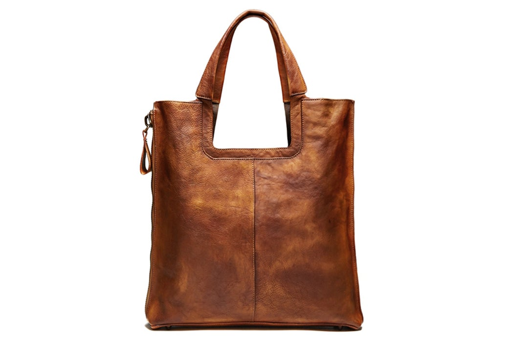 MoshiLeatherBag - Handmade Leather Bag Manufacturer — Handmade Full Grain Leather  Tote Bag