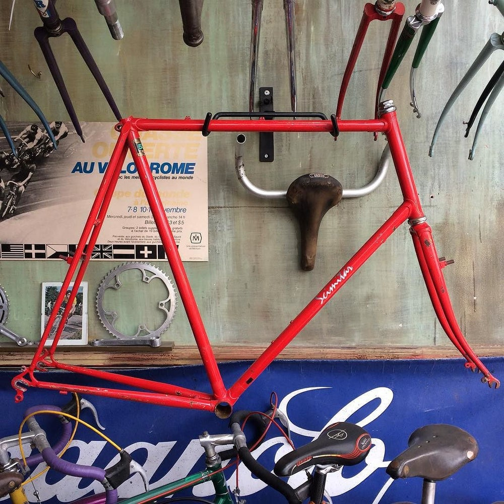 "Image of Scimitar frame, Reynolds 531c   26 3/4 "" !! ( 67cm seat 58cm top)"