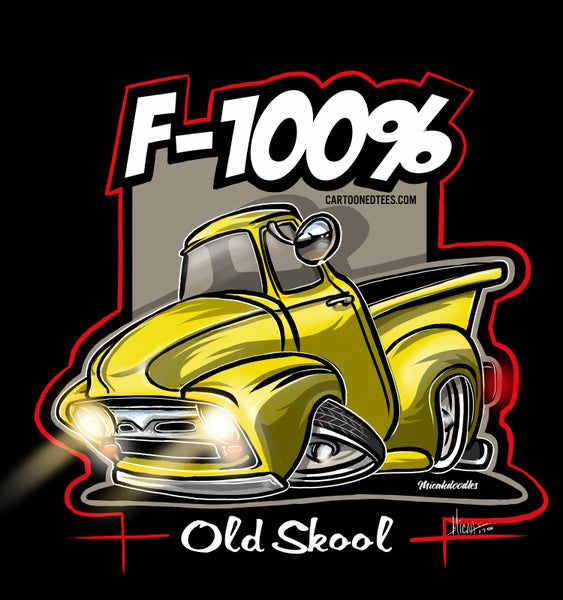 Image of '56 F100% yellow