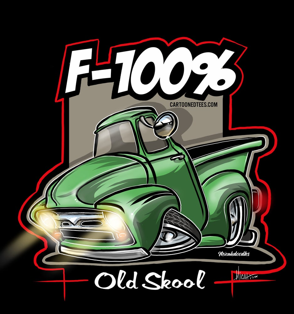 Image of '56 f100% green