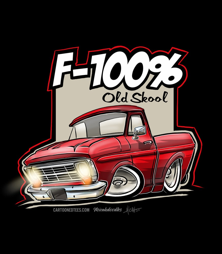 Image of '68 F100% Red