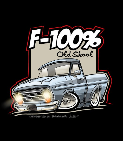 Image of '68 F100% Light Blue